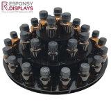 Förderndes Gegenwesentliches Öl-Flaschen-Bildschirmanzeige-acrylsauerregal für kosmetisches System