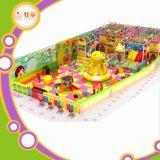 Role Play House Indoor Playground Plastic Slide Fiberglass Toys Rainbow Net