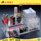 優雅なアクリルの化粧品の陳列台、アクリルの構造の表示(AM-C022)