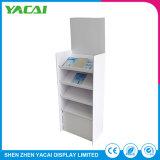 Armazena o piso de papel Exibição de documentos de suporte da cabine de exposições de rack