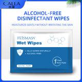 Comercio al por mayor los OEM Paquete las toallitas húmedas con ingredientes naturales
