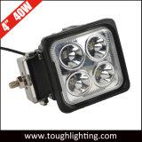 IP67 12V 4 pouce carré CREE LED à usage intensif pour l'exploitation minière des feux de travail la machinerie de construction