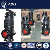 Acero qw / Wq inoxidable sumergible de aguas residuales bomba no se atasca