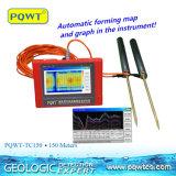 Pqwt-Tc150 150 tester di alta esattezza di prezzi di rivelatore poco costoso dell'acqua sotterranea