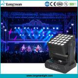 25*15W 4in1 LED Träger-Matrix-bewegliches magisches Hauptpanel
