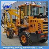 De Hydraulische Heimachine van de Vangrail van de weg voor de Installatie van de Posten van de Omheining voor Verkoop
