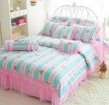 花の田舎様式の綿ポリエステル寝具セットか羽毛布団カバー