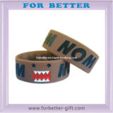 Grande Wristband del silicone di Debossed di formato