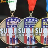 Custome Entwurf Sports Metallmedaille