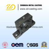 Pezzo fuso personalizzato del acciaio al carbonio con il CNC che lavora secondo l'illustrazione