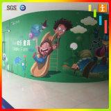 Большой съемный стикер стены улицы из ПВХ (TJ-014)
