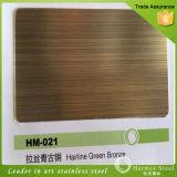 PVD en color acero inoxidable cepillado placa de chapa de equipo de cocina