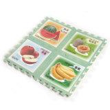 Gummi-EVA-Puzzlespiel-Blatt-Fußboden-Matten-Teppich mit ABC für Unterlage
