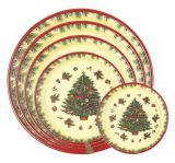 Plastic Plate/Plastic Kitchenware/Decoration Plate (RAVE-PS-104)