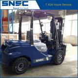 China Snsc Forkift Diesel 3ton com preço da braçadeira da bala