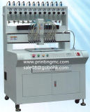 PVC / llavero de silicona máquina de goteo de inyección