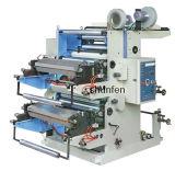 Papel de aluminio plástico de papel de la impresora de Flexography del Doble-Color (CE) (YT-2600-2800-21000-21200)