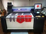 L'imprimante à bande principale pour des tissus de coton de partie et de roulis dirigent l'impression