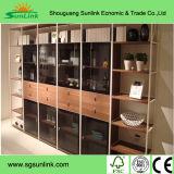 나무로 되는 최고 사무실 책상 또는 테이블 분말 코팅 강철 사무용 가구 (HX-5DE496)