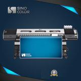 Dx5印字ヘッドのEcoの溶媒プリンターが付いている1.8m 3.2mデジタルのインクジェット大きいフォーマットプリンター