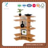 """Stand de exposição de contador em forma de arco de madeira grande de 3 """"personalizado"""