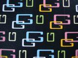 Couro sintético de PVC para o saco de calçados e decoração