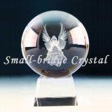 Trofeo cristalino de la bola 3D (ND4002)
