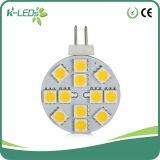 12 de reemplazos de LED SMD5050 G4 LED blanco cálido