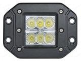 18W LED作業ライトオフロードトラックのための3インチの点ライトLED作業ライト