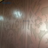 Глобального агента металлической наружной стены из алюминия для ограждения