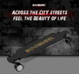 Koowheel Selbstbalancierender Roller-Qualitäts-elektrischer vierradangetriebenroller für erwachsenes/elektrisches Skateboard