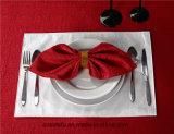 ホテル100ポリエステルレストランの布の夕食ナプキン