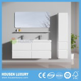Armários de casa de banho de alta qualidade com duas bacias e Espelho D1107-1200 SH DE PRATELEIRA