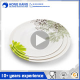 Umweltfreundliches Größengleichessgeschirr-Melamin-Plastikaufladeeinheits-Platte