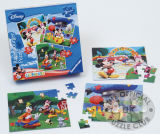 Высокое качество образования детей игрушки мультфильм бумаги пила по металлу головоломки с пользовательскими печать