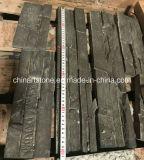 De asbest-vrije Donkere Grijze/Zwarte Tegel van de Steen van de Cultuur van het Product van het Cement Kunstmatige voor de Tegel van de Muur van de Villa