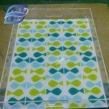 Petite boîte carrée en plastique transparent/CAS/Conteneur avec couvercle