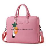 Calculador de negócios mulheres Premium elegantes malas de couro sacos de Laptop
