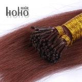 De beste Uitbreidingen van het Haar van de Keratine van 18 Duim van het Menselijke Haar van de Kwaliteit Bruine