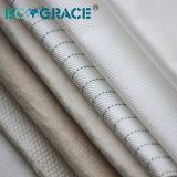 1-5 micras Nonwoven paño de tela de fieltro tela Filtro Prensa