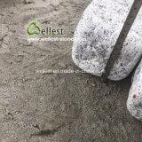 旧式な見ることを用いる自然な転倒G603の薄い灰色の花こう岩の立方体の石