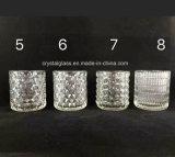 Soem-annehmbares Kerze-Glasbecherhalter-Glas-freie Probe