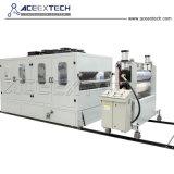 ASA PMMA PVC recouvert de feuilles et de tuile de toit composite de la machine de l'extrudeuse