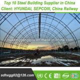 Instalação prática produtos de aço estrutural de poupança de custos