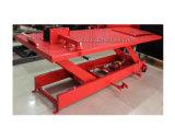 La tijera hidráulica manual mesa elevadora de moto