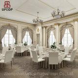 (SP-LC219) Estrutura de aço Cadeira de jantar de couro de empilhamento para o hotel, restaurante, parque de exposições de casamento,
