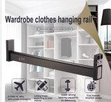 De Toebehoren van de Garderobe van de Montage van de Hardware van het meubilair kleden het Profiel van het Aluminium van de Buis