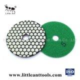 Tampon de polissage de diamants de béton-de-chaussée