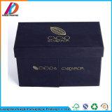 Bijoux de luxe à l'emballage cadeau papier rigide Boîte avec couvercle