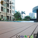 WPC Decking Floor / Solid Composite Decking / Impermeável Laminate Flooring WPC